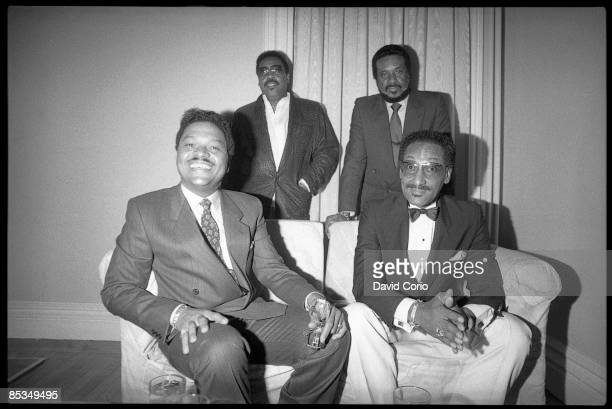 LIMELIGHT Photo of Levi STUBBS and FOUR TOPS and Abdul Duke FAKIR and Renaldo Obie BENSON and Lawrence PAYTON LR Renaldo 'Obie' Benson Lawrence...