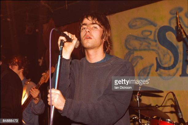 CLUB Photo of Liam GALLAGHER and OASIS Liam Gallagher performing live onstage at The Water Rats