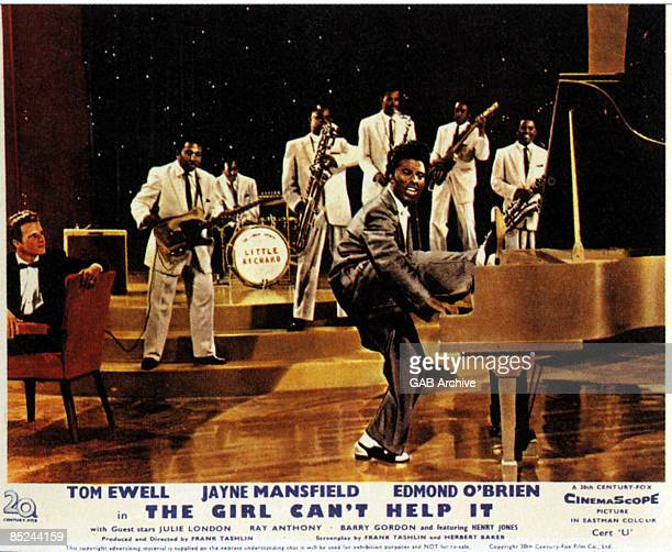 Photo of Little RICHARD and THE GIRL CAN'T HELP IT and FILM POSTERS; The Girl Can't Help It