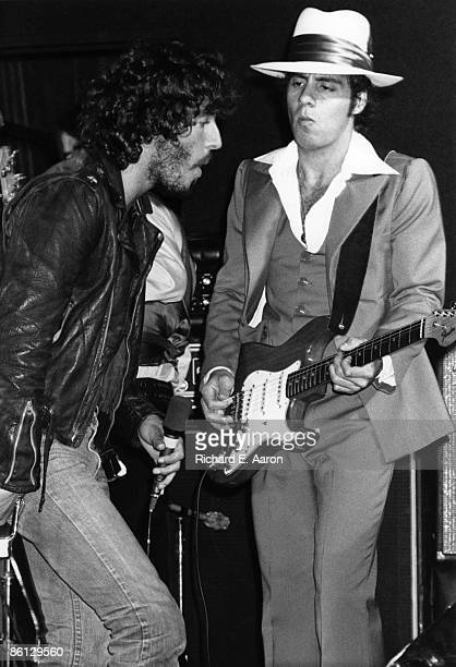 BOTTOMLINE Photo of LITTLE STEVEN and Bruce SPRINGSTEEN and Steven VAN ZANDT with Steven Van Zandt EStreet Band performing live onstage on Born To...