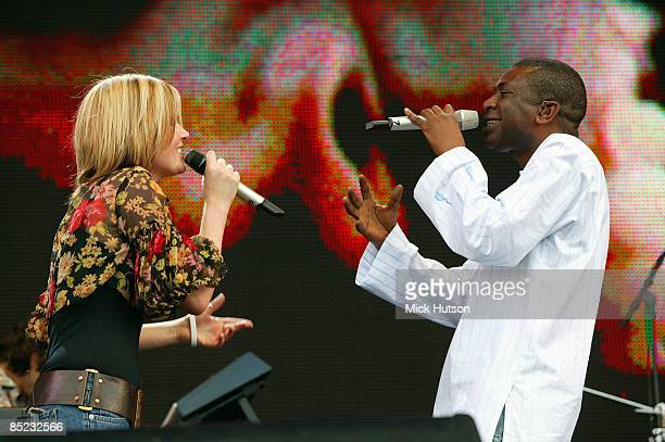 PARK Photo of LIVE 8 and Youssou N'DOUR and DIDO w/Youssou N'Dour performing at Live 8