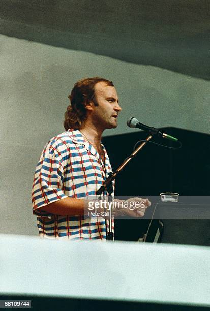 Photo of LIVE AID and Phil COLLINS at Live Aid