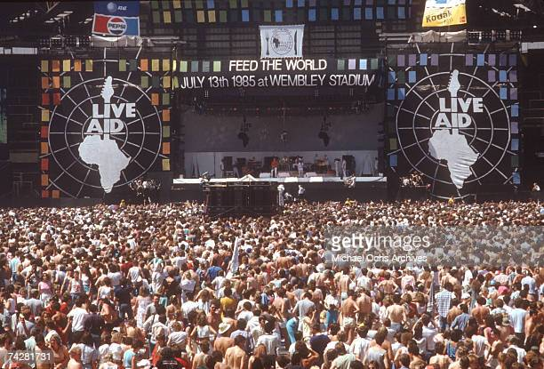 Photo of Live Aid Photo by Michael Ochs Archives/Getty Images