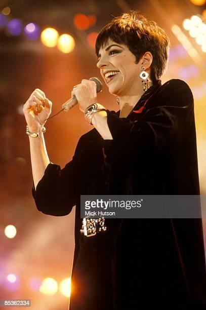 STADIUM Photo of Liza MINELLI Liza performing at the Freddie Mercury Tribute Concert