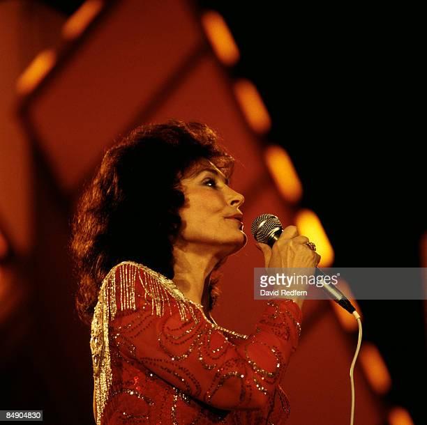WEMBLEY Photo of Loretta LYNN Loretta Lynn performing on stage