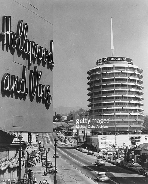 Photo of Los Angeles 002 Hollywood Capitol Records Photo by Michael Ochs Archives/Getty Images