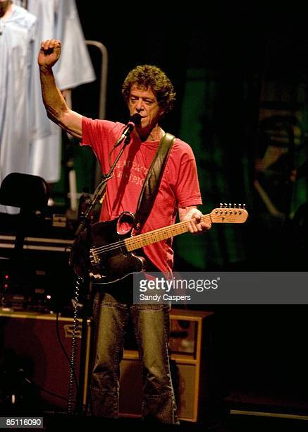 PHILHARMONIE Photo of Lou REED Lou Reed performing on stage Berlin Tour