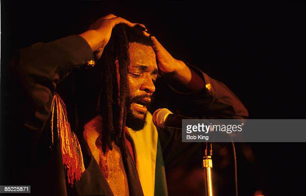 Photo of LUCKY DUBE performing live on stage at Selinas