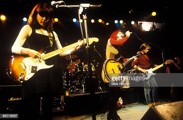 Photo of LUSH, Emma Anderson, Miki Berenyi, Phil King performing live on Friday At The Dome TV show