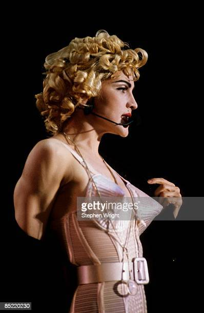 STADIUM Photo of MADONNA Madonna performing on stage Blond Ambition Tour