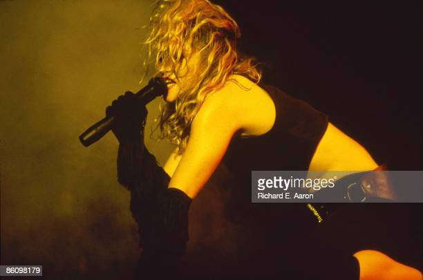 Photo of MADONNA Madonna performing on stage Virgin Tour