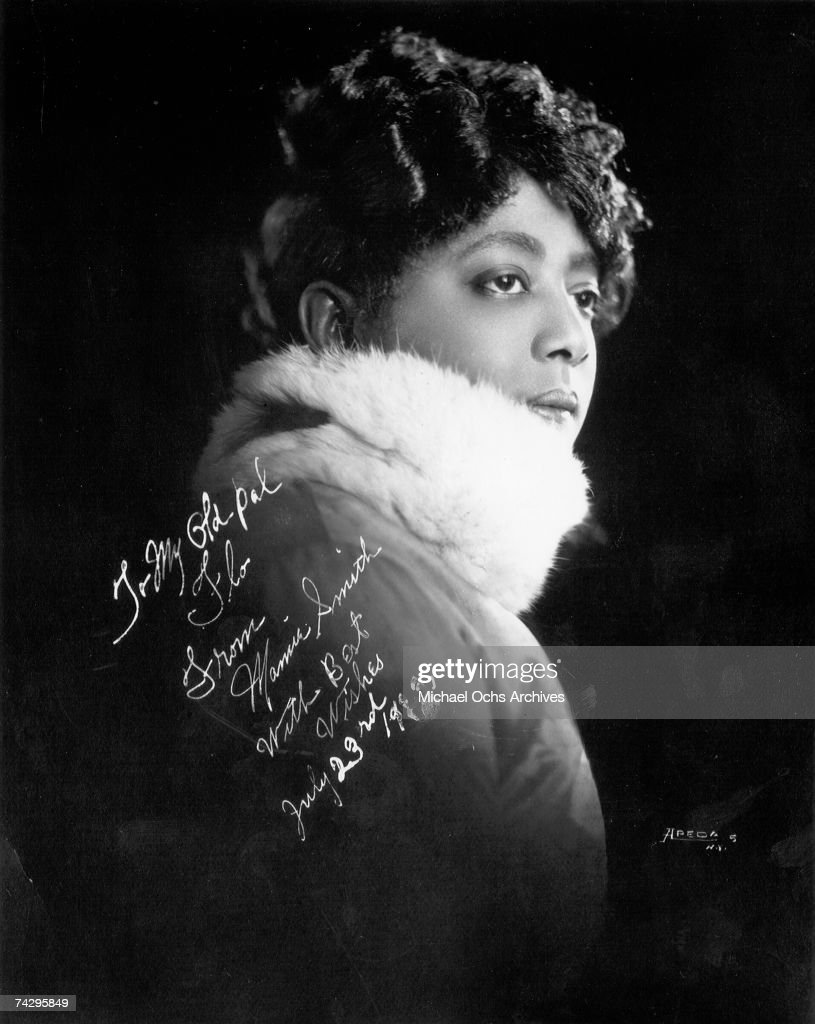 Photo of Mamie Smith Photo by Michael Ochs Archives/Getty Images