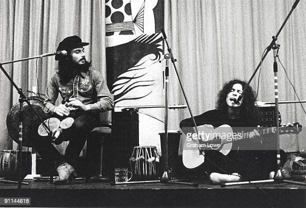 Photo of Marc BOLAN and T REX and Mickey FINN and TYRANNOSAURUS REX, Mickey Finn & Marc Bolan live at Redcar Jazz Club