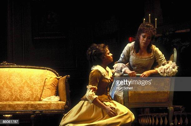 HOUSE Photo of Maria EWING and Kathleen BATTLE and WERTHER Kathleen Battle as Sophie Maria Ewing as Charlotte