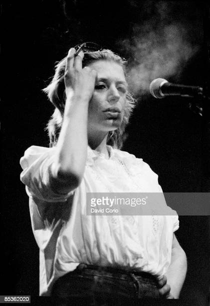 THEATRE Photo of Marianne FAITHFULL Marianne Faithful performing at The Dominion London 8 June 1982