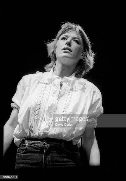 Photo of Marianne FAITHFULL, Marianne Faithful performing at The Dominion, London 8 June 1982