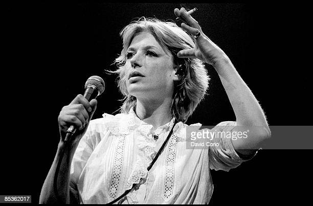 Photo of Marianne FAITHFULL, Marianne Faithful performing at The Dominion, London on 8 June 1982
