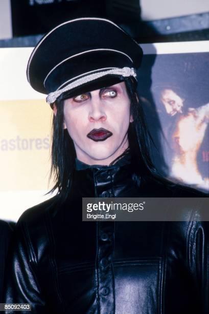 MEGASTORE Photo of Marilyn MANSON Posed portrait of Marilyn Manson