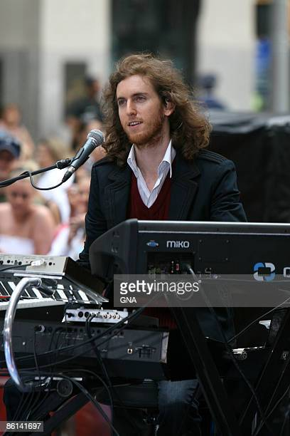 Photo of MAROON 5 Maroon 5 performs on the NBC 'Today Show' concert series in New York City on May 28 2007 Photos by GNA
