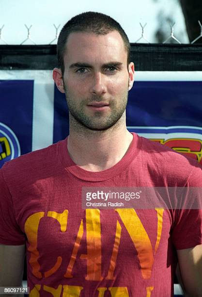 Photo of MAROON 5 Maroon 5 singer Adam Levine at the KIIS FM Wango Tango concert held at the Rose Bowl in Pasadena Calif on May 15 2004