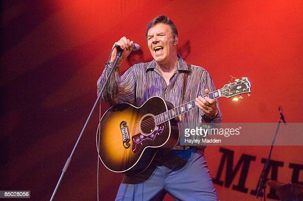 PALLADIUM Photo of Marty WILDE performing live onstage on his 50th Anniversary Tour
