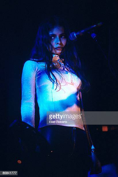 UNITED STATES OCTOBER 21 ACADEMY Photo of MAZZY STAR and Hope SANDOVAL Hope Sandoval performing on stage