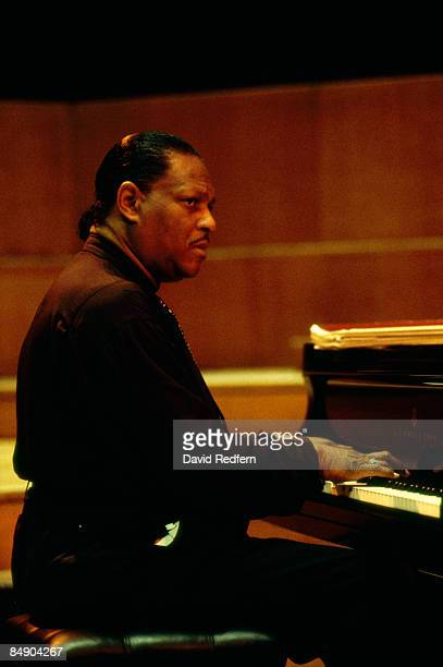 Photo of McCoy TYNER Pianist McCoy Tyner performing on stage