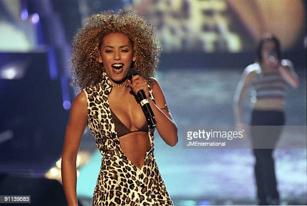 Photo of Melanie BROWN and Mel B and SPICE GIRLS, Melanie Brown performing live on stage