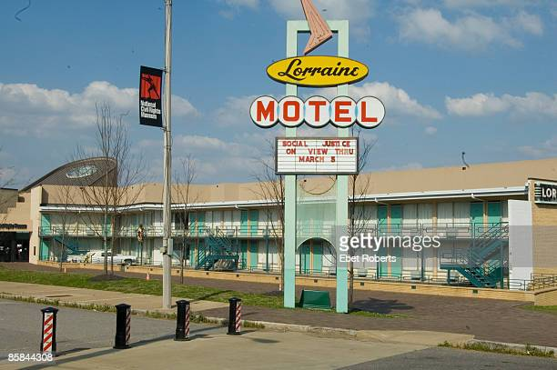 UNSPECIFIED APRIL 08 Photo of MEMPHIS The Lorraine Motel in Memphis where Martin Luther King was assassinated in April 1968