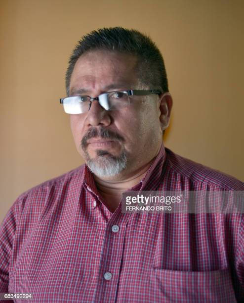 Photo of Mexican awardwinning local journalist and Agence FrancePresse contributor Javier Valdez taken on May 23 2013 Valdez who reported on violent...