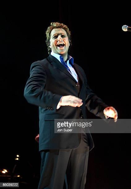 Photo of Michael BALL; live at Manchester Apollo