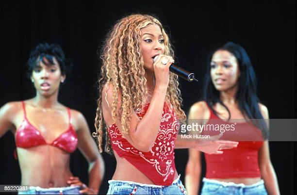 PARK Photo of Michelle WILLIAMS and Beyonce KNOWLES and Kelly ROWLAND and DESTINY'S CHILD LR Kelly Rowland Beyonce Knowles Michelle Williams