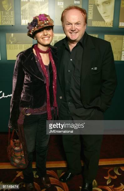 Photo of Mike BATT and Katie MELUA and Katie MELUA LR Katie Melua Mike Batt at Music Industry Trust Dinner