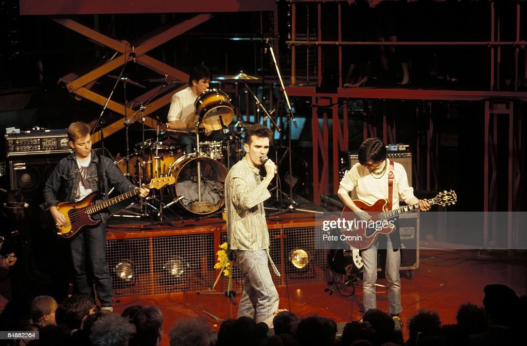 Photo of Mike JOYCE and SMITHS and MORRISSEY and Andy ROURKE and Johnny MARR : Fotografía de noticias