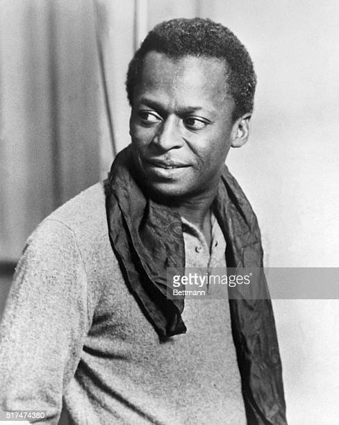 Photo of Miles Davis famed jazz trumpeter