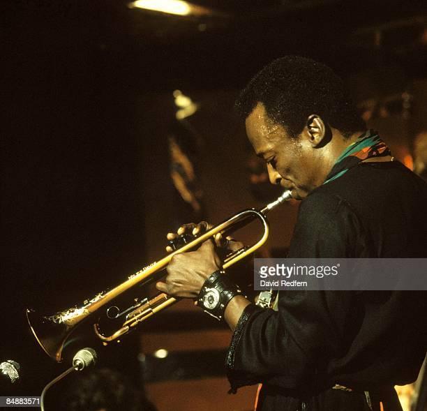 SCOTTS Photo of Miles DAVIS performing live onstage for BBC 'Jazz Scene' TV show