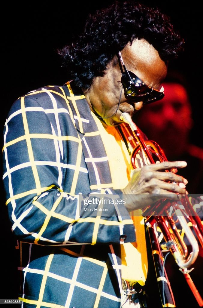 HALL Photo of Miles DAVIS, performing live onstage