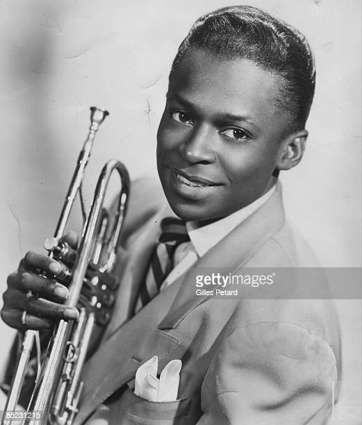Photo of Miles DAVIS Portrait of Miles Davis trumpet