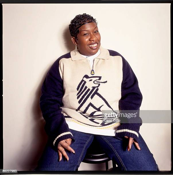 Photo of Missy ELLIOTT Missy Elliott at Hit Factory New York 16 October 1998