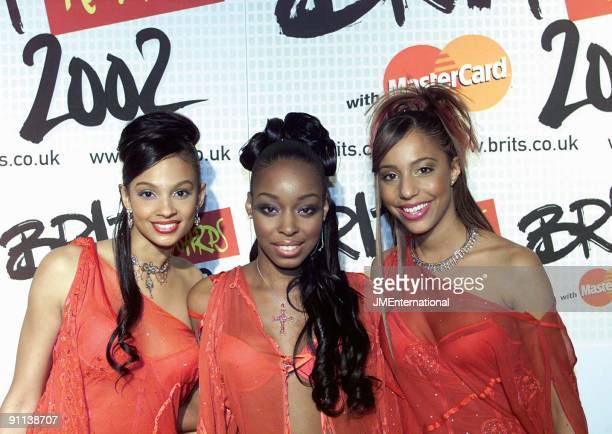 COURT Photo of MISTEEQ BRIT Awards 2002 Earls Cort 2 London 20th February 2002