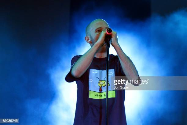 Photo of MOBY; live at Manchester Apollo