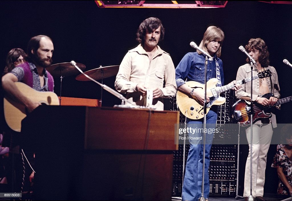 Photo of MOODY BLUES performing on TOP OF THE POPS, 22nd August 1971.