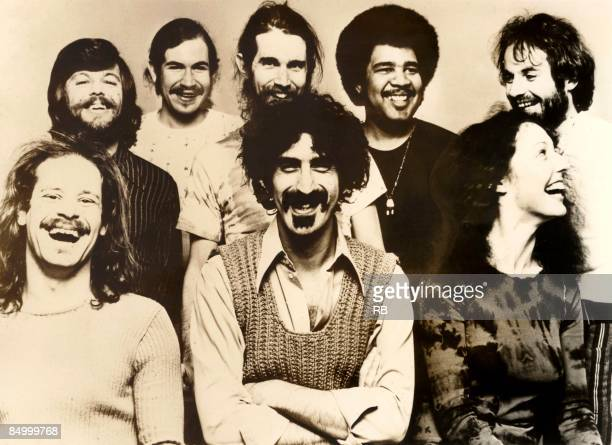 Photo of MOTHERS OF INVENTION and Frank ZAPPA Posed group portrait of Frank Zappa with The Mothers of Invention