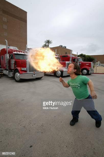 Fire breathing midget