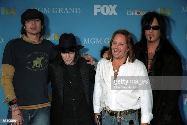 Photo of MOTLEY CRUE; Motley Crue at the Billboard Music Awards held at the Grand Garden Arena at the MGM Hotel & Casino in Las Vegas, Nevada on...