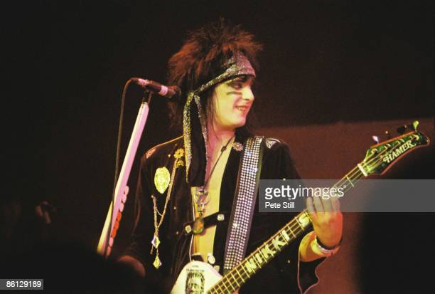 ODEON Photo of MOTLEY CRUE Nikki Sixx performing live onstage