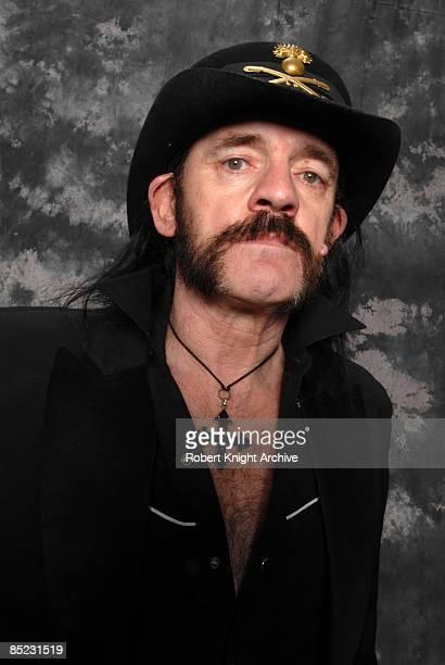 Photo of MOTORHEAD and LEMMY, Lemmy at the Rock Walk