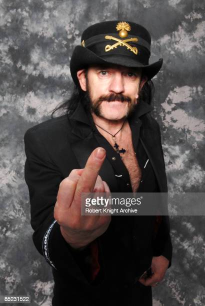 HOLLYWOOD Photo of MOTORHEAD and LEMMY Lemmy at the Rock Walk