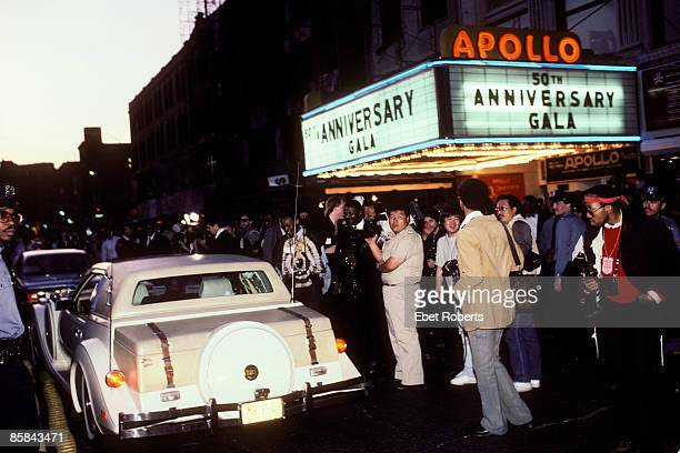 THEATER Photo of Motown 50th Anniversary Motown's 50th Anniversary held at the Apollo Theatre in New York City on May 4 1985