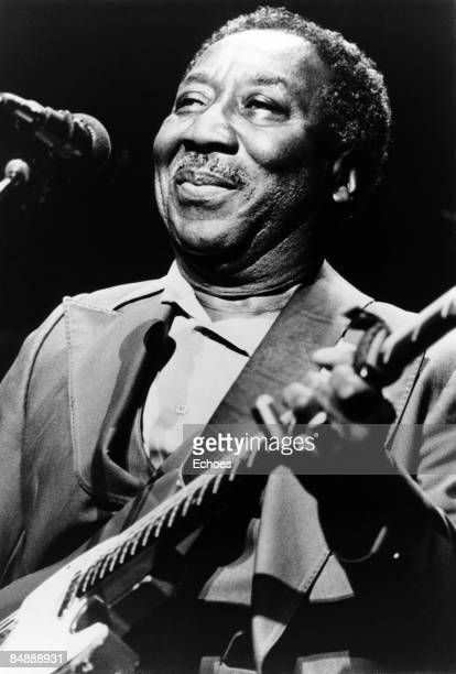 USA Photo of Muddy WATERS Muddy Waters performing on stage